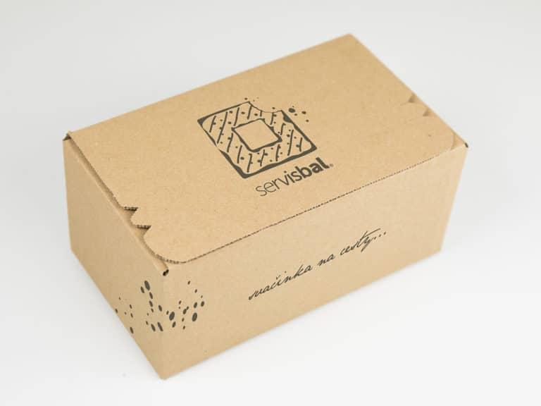 Potisk krabice servisbal
