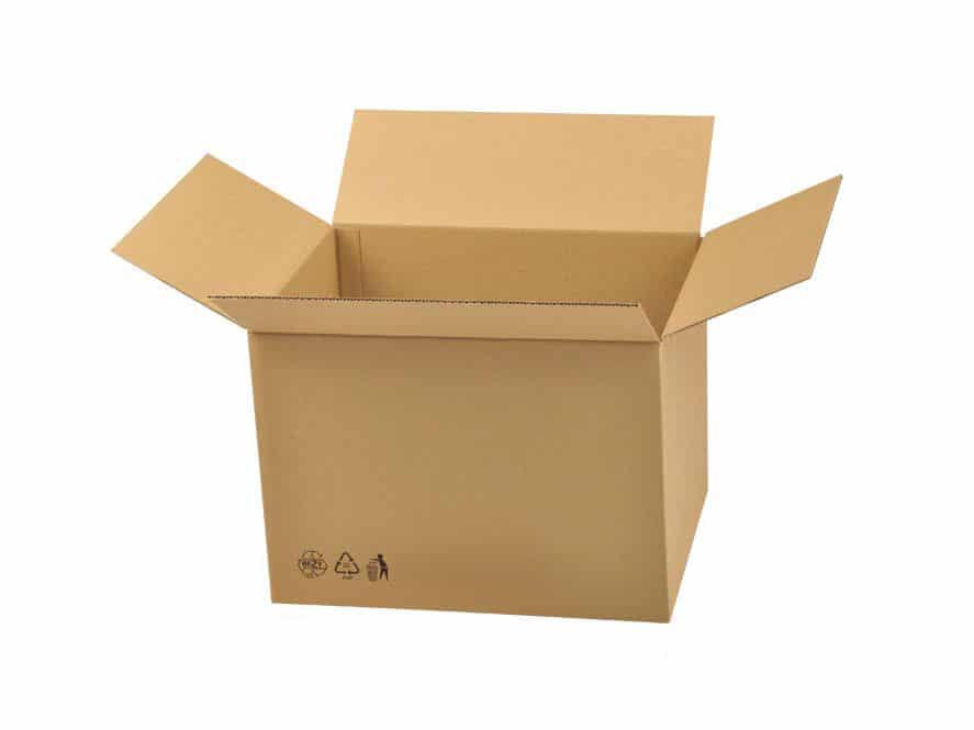 kartonová krabice do lepiček