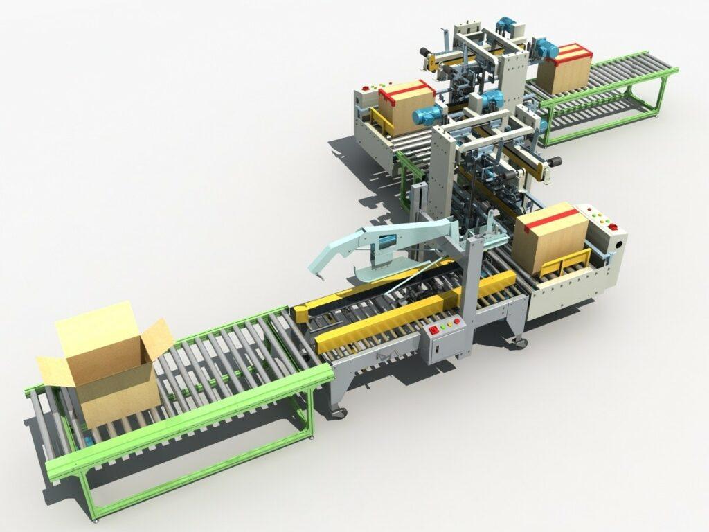 automatizace balení